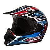 Fuel Helmets SH-OR3017 Graphic Off-Road Helmet, Multicolor, X-Large