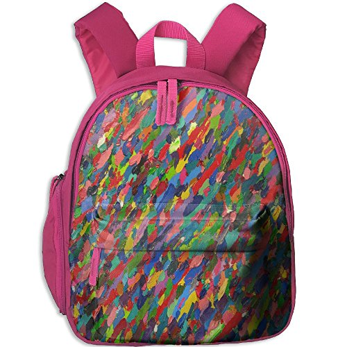 Kid's Pre School Backpack Boy&girl's Remnants Of Paint Book Bag