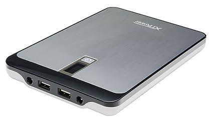 XTPower® MP-23000A Powerbank - mobiler externer hochleistungs USB und DC Akku mit 23000mAh - 2 USB bis 2.5A und DC 9V/12V/16V