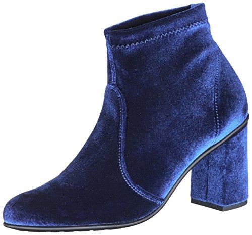 Botas bl Nr 03vl w Rapisardi Para O1301 blue Mujer Azul Velvet TxFqEx