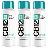 CB12 250ML 3 PACK MILD MINT Safe Breath Oral Care Agent