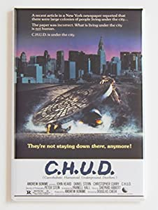 Chud Movie Poster Fridge Magnet (2.5 x 3.5 inches) by Blue Crab Magnets