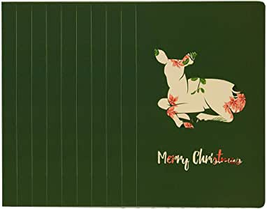 Amazon.com : Christmas card Greeting Card Background ...