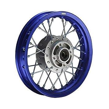 hmparts Pit / MOTO de cross / cruzar - Aluminio Llantas anodizado 12 delant. B: Amazon.es: Coche y moto