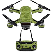 Skin for DJI Spark Mini Drone Combo - Croc Skin  MightySkins Protective, Durable, and Unique Vinyl Decal wrap cover   Easy To Apply, Remove, and Change Styles   Made in the USA