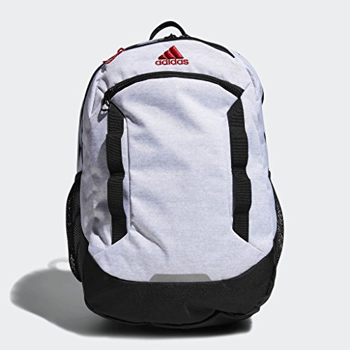 adidas Excel Iv Backpack, White Jersey/Black/Scarlet, One Size by adidas