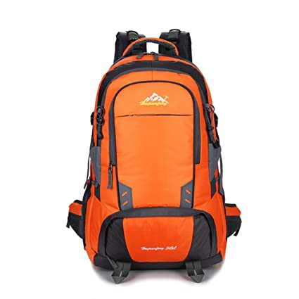 NOBIE 50L Mochilas de Senderismo Mochila de Camping Montañismo A Pie Viaje Aventuras Adecuado Tanto para