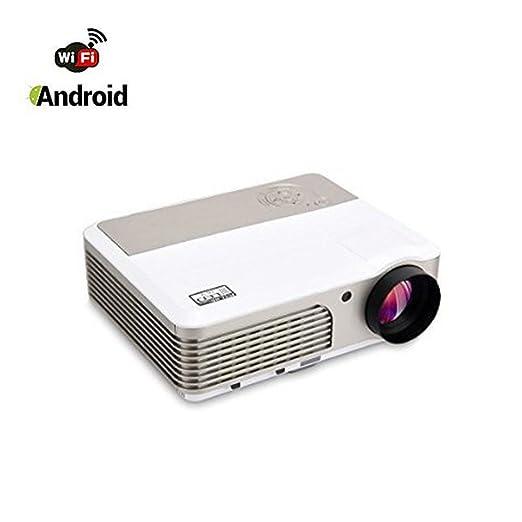 113 opinioni per WiFi Android Proiettore, Mileagea LED Videoproiettore 2600 Lumen 1280x600 Full