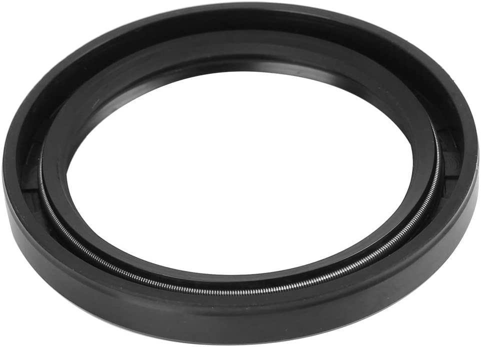 X AUTOHAUX 55mm X 72mm X 8mm Rubber Cover Double Lip TC Oil Shaft Seal for Car