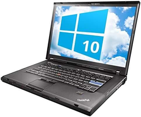 Lenovo ThinkPad T500 Laptop WEBCAM - Intel Core 2 Duo 2.26ghz - 3GB DDR3 - 120GB HDD - DVD+CDRW - Windows 10 Home 32bit