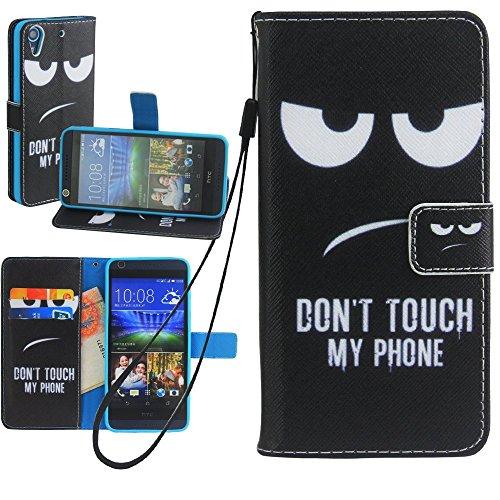 HTC Desire 626 Wallet Case, HTC 626S Case, Harryshell Wrist Strap Folio Leather Flip Case Cover Credit Card Id Holder for HTC Desire 626 626S