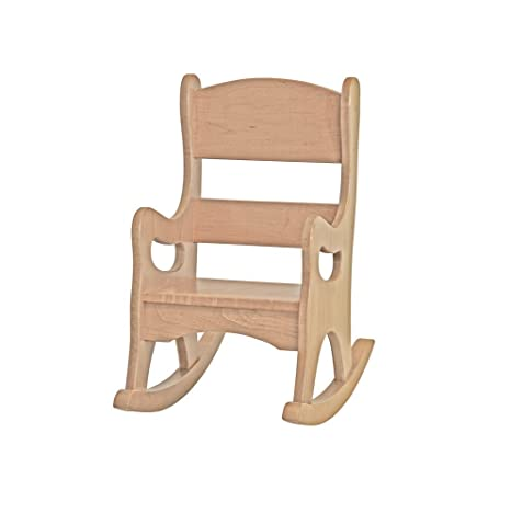 Terrific Amazon Com Childrens Kids Rocking Chair Amish Made In Andrewgaddart Wooden Chair Designs For Living Room Andrewgaddartcom