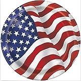 8 pcs America Flag Dinner Plates.