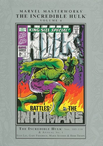 Marvel Masterworks: Incredible Hulk - Volume 4 (Marvel Masterworks (Numbered)) pdf