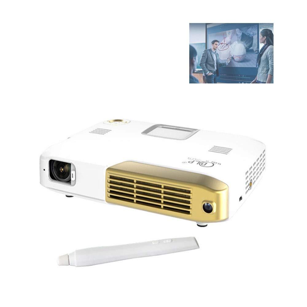 GJZhuan Proyector Mini 4K 4096x2160 Resolución DLP 3 Proyector De ...