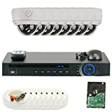 GW Security 1080P HD-CVI 8 Channel Video Security Camera System – Eight 2MP Weatherproof 2.8-12mm Varifocal Zoom Dome Cameras, 30-IR LED 80ft Night Vision, Long Distance Transmit Range (984ft), Pre-Installed 3TB HDD Review