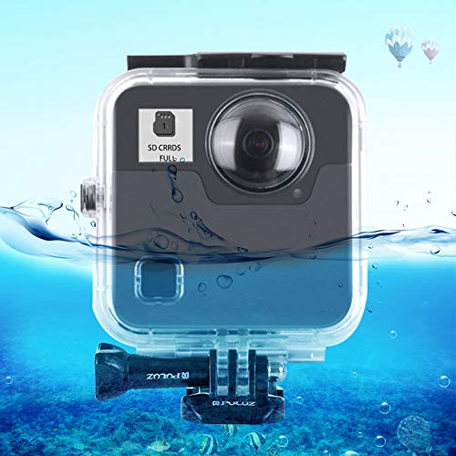 Yifant 148ft / 45M Waterproof Housing Case for GoPro Fusion Camera Underwater Diving Protective Shell with Bracket High Transparent Case Expansion Accessory