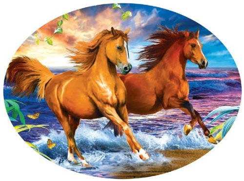 Beach Run 600 pc Jigsaw Puzzle