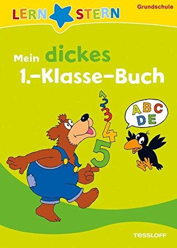 Mein dickes 1.-Klasse-Buch: Buchstaben, Zahlen, Rechnen üben (LERNSTERN)