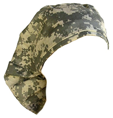 - Big Hair Women's Medical Scrub Caps - Acu Digital Camo