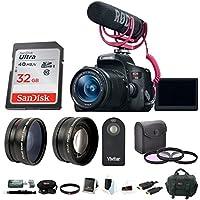 Canon EOS Rebel T6i DSLR Video Creator Kit with 18-55mm Lens & Accessory Bundle Advantages Review Image