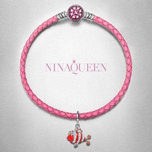 Ninaqueen Quot Ocean Clownfish Quot 925 Sterling Silver Dangle