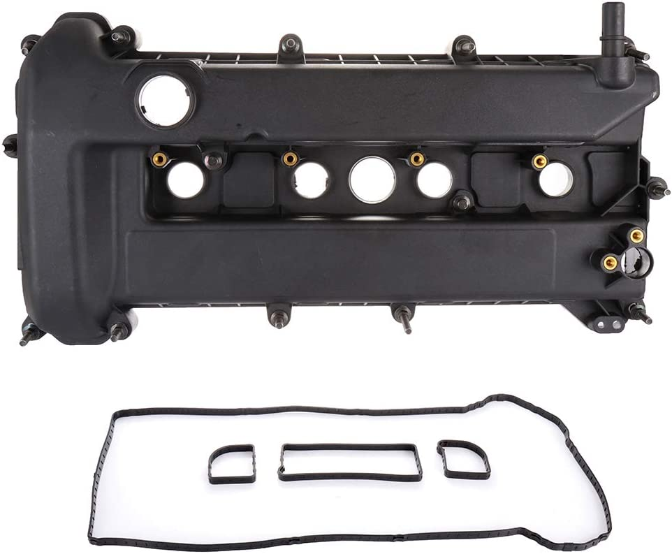 ECCPP Valve Cover with Valve Cover Gasket for 2005-2013 Ford Escape Focus Mercury Mariner Compatible fit for Engine Valve Covers Kit