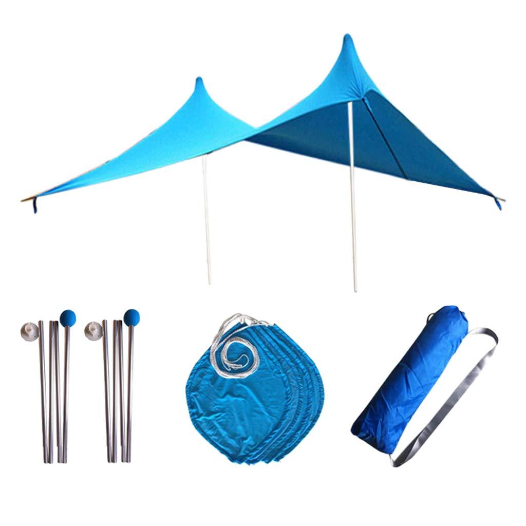 Perfk Wasserdicht Camping Zeltplanen Set für Camping Outdoor Reise
