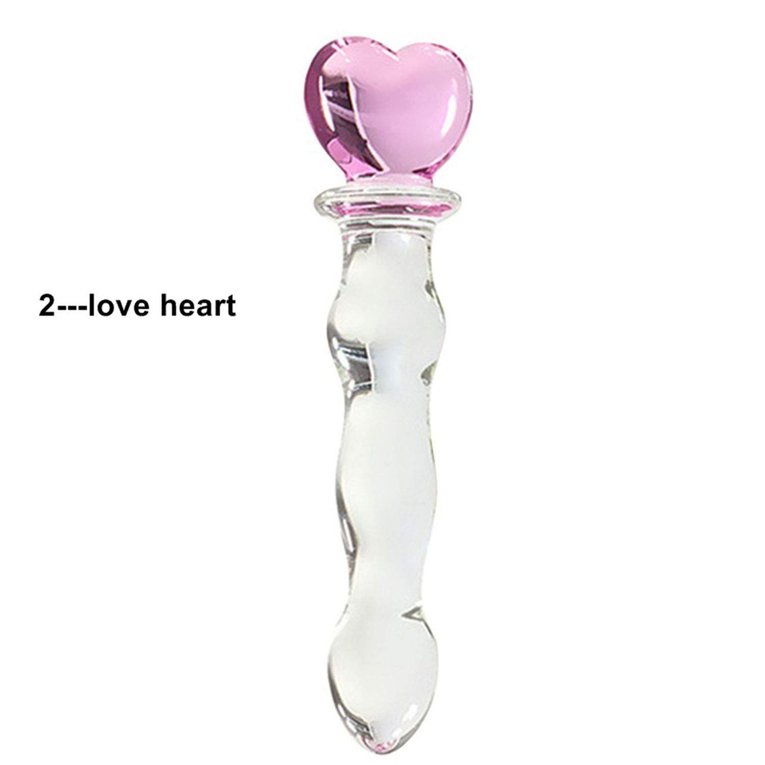 Biryse Crystal Glass Sex Toys Penis Glass Beads Vaginal Anal Plug Stimulation Buttplug Sex Toys Vibrator Sex Toys for Woman Sex Shop,4pcs,Refer to Pictures by Biryse (Image #3)