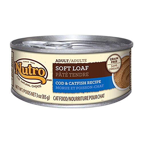 Nutro Natural Choice Cat Soft Loaf Cod And Catfish, 24 By 3 Oz