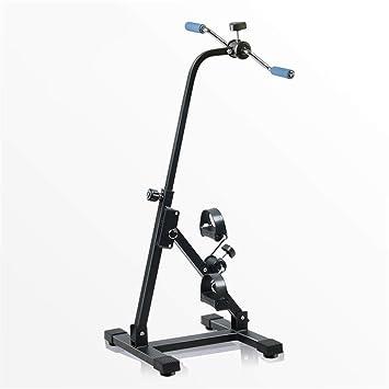 Ejercitador portátil de pedales - Máquina para hacer ejercicio los brazos y las piernas - Equipos