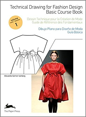 Buy Technical Drawing For Fashion Design 1 Basic Course Book Book Cd Book Online At Low Prices In India Technical Drawing For Fashion Design 1 Basic Course Book Book