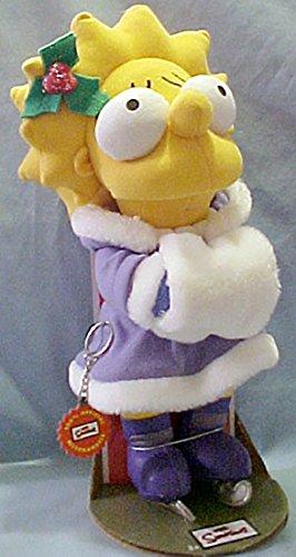 The Simpsons' Lisa Simpsons Ice Skater includes Bonus Key Ring