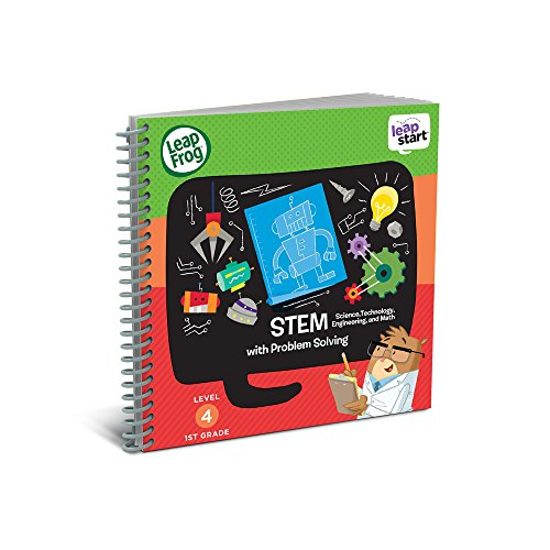 LeapFrog LeapStart 1st Grade Activity Book: STEM (Science, Technology, Engineering, Math) and Problem Solving (Requires LeapStart - Activity Book Tag