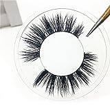 GreatFun 1Pair Luxury 3D Long False Lashes Fluffy Strip Natural Eyelashes