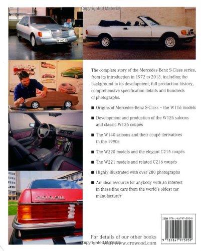Mercedes benz s class 1972 2013 james taylor 9781847975959 amazon mercedes benz s class 1972 2013 james taylor 9781847975959 amazon books fandeluxe Choice Image