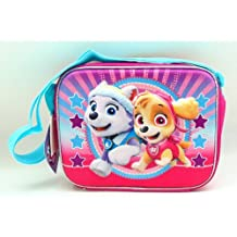 3D Girls Paw Patrol Insulated Lunch Bag. Featuring: Skye and Everest