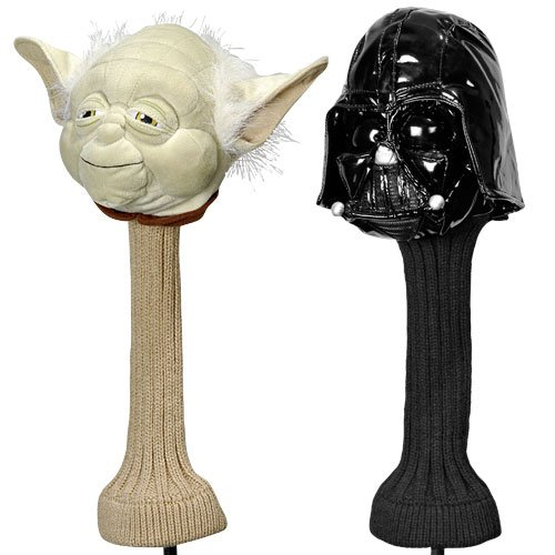 Licensed Yoda Star Wars Golf Headcover 460cc Great -