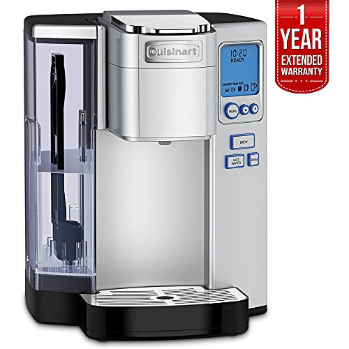Cuisinart Premium Single Serve Coffeemaker (SS-10) with 1 Year Extended Warranty images