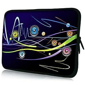 "Nsaneoo - PU Leather 7""/10""/13"" Laptop Sleeve Case for MacBook Air Pro/Ipad Mini/Galaxy Tab2/Sony/Google Nexus 18080 , 7 inch"