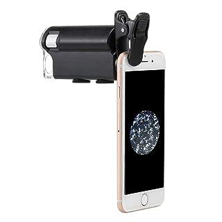 SXY888 Microscopio di ingrandimento 60X-100X del Magnifier del LED Che ingrandice per Il microscopio di valutazione dei Gioielli di biologia di rilevazione di valuta UV del Cellulare
