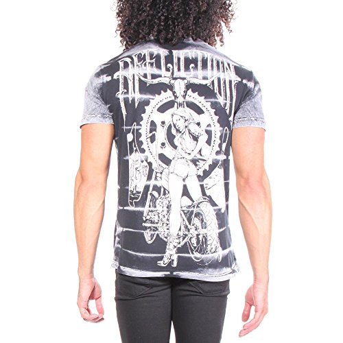 Camisetas Tail para Affliction hombre Gunner PfvHxO