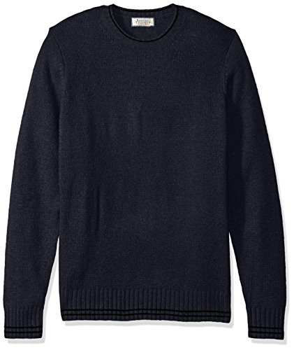Boston Traders Men's Balmoral Crewneck Sweater, Blue, X-Large