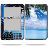MightySkins Protective Vinyl Skin Decal Cover for Amazon Kindle 3 (Fits Kindle Keyboard) 6'' display ebook reader wrap sticker skins - Beach Bum