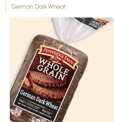 (Pepperidge Farm Whole Grain German Dark Wheat 24 Oz (Pack of 2))