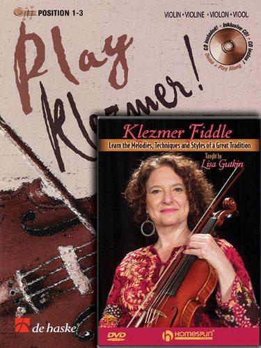 Play Klezmer - Violin/Fiddle Bundle Pack: Play Klezmer! Violin (Book/CD Pack) with Play Klezmer Fiddle (DVD)