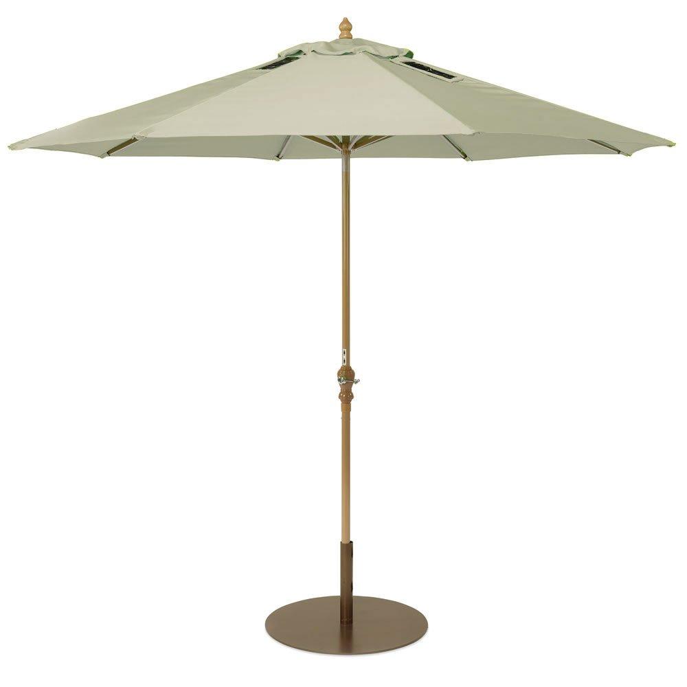 Amazon.com : SolPower 9000 Patio Umbrella With 2 Built In USB Ports,  9 Feet, Beige : Garden U0026 Outdoor