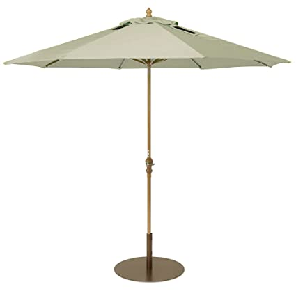 SolPower 9000 Patio Umbrella With 2 Built In USB Ports, 9 Feet,