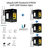 Ubiquiti UAP-Outdoor5 4-PACK UniFi UAP Outdoor 5ghz, UAP Outdoor5, UAP-Outdoor 5