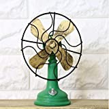 European Retro Home Decorations Cafe Bar Electric Fan Phone Camera Piano Sewing Machine Iron Helmet Antique Decoration ( Style : G )